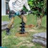 Kép 4/4 - Makita DDG460ZX7 2x18V akkus földfúró + adapter (akku és töltő nélkül)