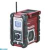 Kép 2/2 - Makita DMR108AR Akkus rádió bordó színű (akku és töltő nélkül)