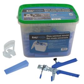 Bautool 1501205100 Ékes szintező készlet (1mm/0-12mm kapu)