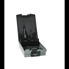 Hikoki 780104 lépcsős lemezfúró szett