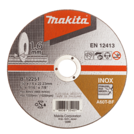 Makita B-12251 Vágótárcsa 150/1,6mm