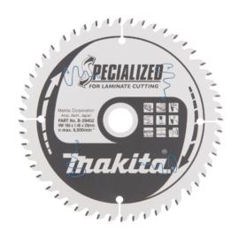 Makita   B-29452 Specialized körfűrészlap Laminált laphoz 165x20mm Z52