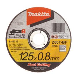 Makita B-45733 Vágókorong INOX 125x0,8 mm