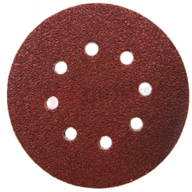 Makita P-43577 Excenterpapír tépőz. barna 125mm K120 10db