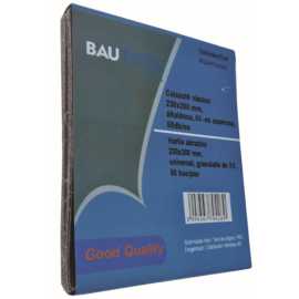 Bautool RQAP020100 Csiszolóvászon, 100-as szemcsedurvaság, 50db/cs.