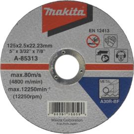 Makita A-85313 Vágókorong ACÉL 125x2,5mm