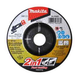 Makita B-51655 Vágókorong ACÉL 125x2,0mm
