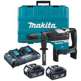 Makita DHR400PT2U 2x18V akkus SDS-Max fúró-vésőkalapács 2x5.0Ah