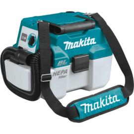 Makita DVC750LZ 18V száraz-nedves porszívó (akku és töltő nélkül)