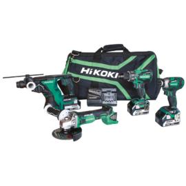 Hikoki KC18DG4L akkus szett (DH18DBL+G18DBL+WH18DBDL2+DS18DBSL)
