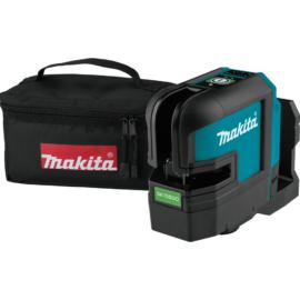 Makita SK105GDZ 10,8V CXT Li-ion kereszt lézer ZÖLD (Akku és töltő nélkül!)