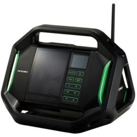 Hikoki UR18DSAL 18V akkus rádió, android, ios (akku és töltő nélkül)