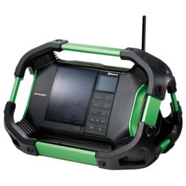 Hikoki UR18DSDL-BASIC 18V akkus rádió, Bluetooth (akku és töltő nélkül)