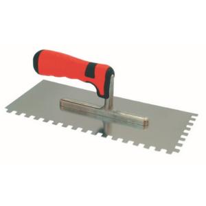 Bautool 3213281 Rozsdamentes fogazott glettelő soft 10x10mm