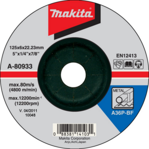 Makita A-80640 Csiszolótárcsa INOX