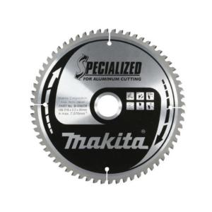 Makita B-09628 Körfűrészlap alu 216/30mm Z64