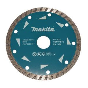 Makita D-41632 Gyémánttárcsa 125mm, turbo