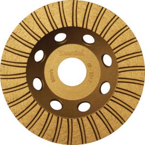 Makita D-62343 Betoncsiszoló tárcsa TURBO 115mm szegm: 2,0 f: 22,23
