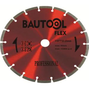 Bautool Gyémánttárcsa szegmenses 7/115 mm  (profi)