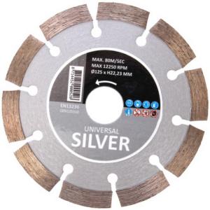 HiKoki CESI125310 125 mm silver gyémánttárcsa szegmenses
