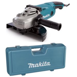 Makita GA9020RFK Sarokcsiszoló 230mm, 2200W, lágyindítással + Koffer