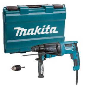 Makita HR2630X7 SDS-Plus fúró-vésőkalapács, 800W, gyorstokmánnyal