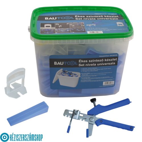 Bautool 1501205200 Ékes szintező készlet (2mm/0-12mm kapu)