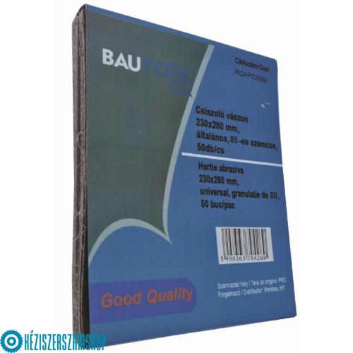 Bautool RQAP02040 Csiszolóvászon 230x280mm, P40