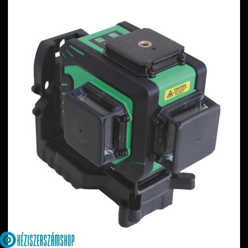 Bautool TG703D Önbeálló kereszt és vonal lézer 3D (zöld fénnyel)