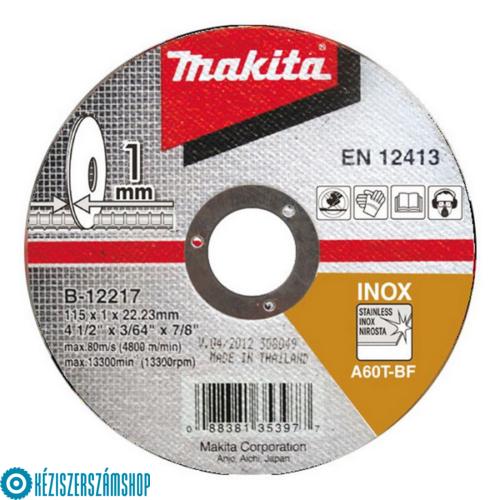 Makita B-12217 Vágótárcsa 115/1,0mm (acél)