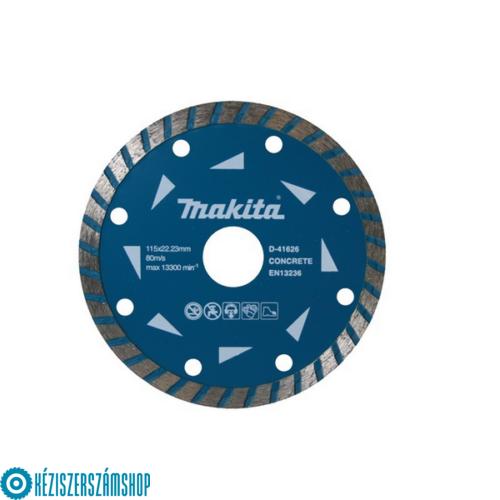 Makita D-41626 Gyémánttárcsa turbo long-life