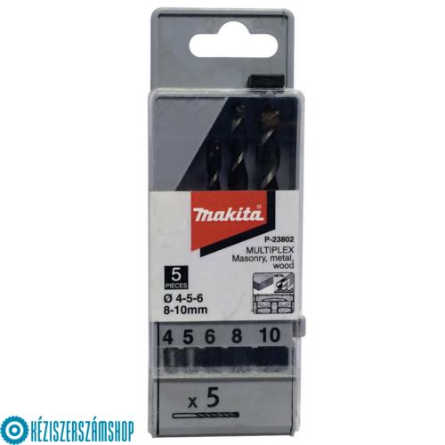 Makita P-23802 Mulitplex fúró TCT 4,5,6,8,10mm