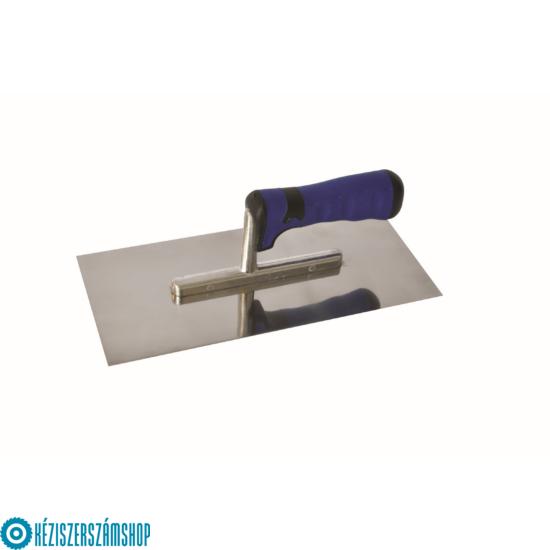 Rozsdamentes glettelő 280x130 kék SOFT