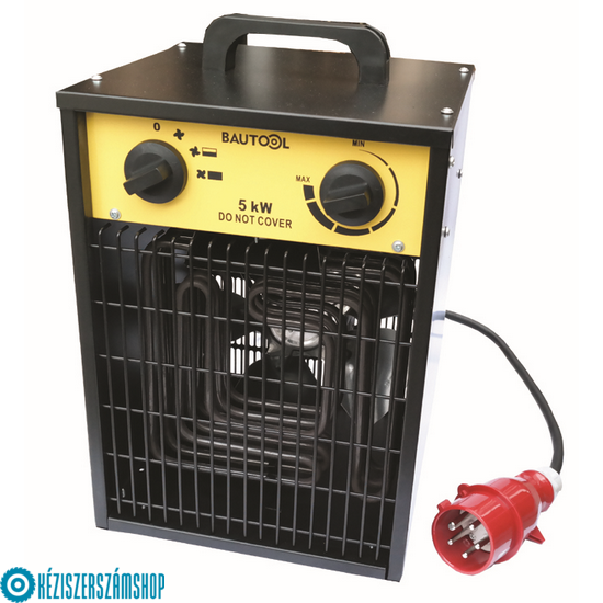 Bautool IFH02-50H Elektromos hőlégbefúvó 5kW/400V