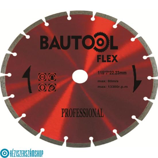 Bautool RQHP001115 Gyémánttárcsa szegmenses (profi)