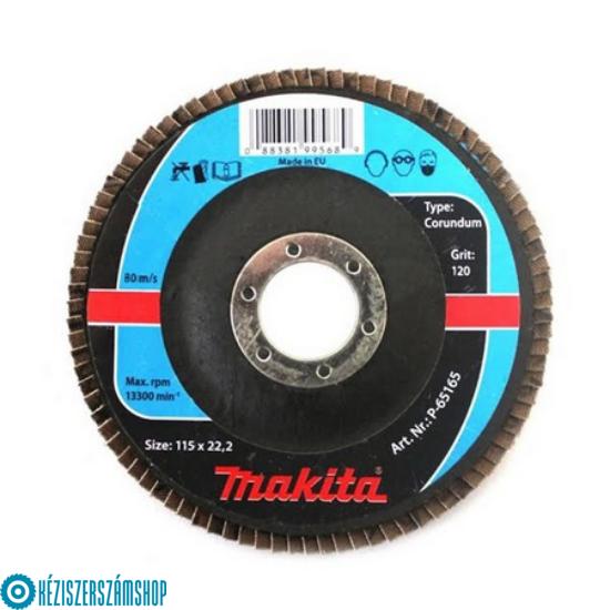 Makita P-65187 Lamellás csiszolókorong - 125mm, fém, 60-as szemcse