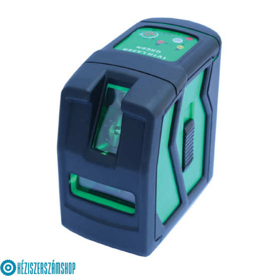 Bautool TG101G Önbeálló kereszt és vonal lézer zöld